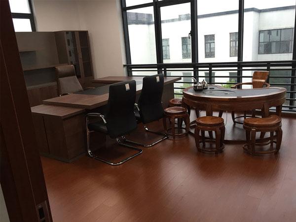 蓝海办公室装修案例