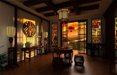 茶楼装修:中式茶楼装修风格