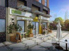 咖啡厅装修:囧囧小屋咖啡馆装修案例