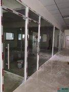 玻璃隔断之双层钢化玻璃夹百叶窗帘