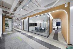 """办公室设计-线性空间中的""""建筑""""美学"""