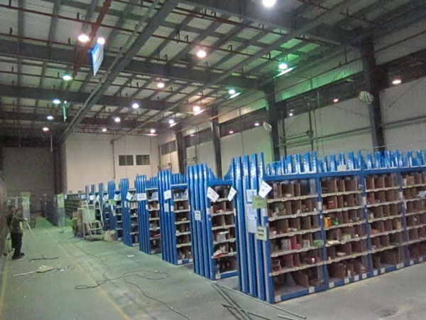 昆山亚马逊照明工程厂房装修案例
