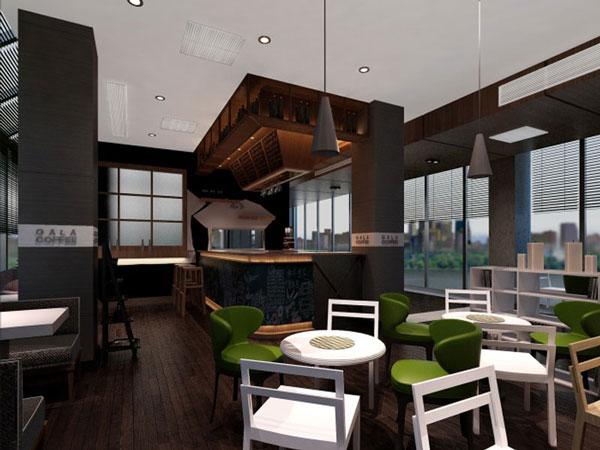 昆山装修公司:gala复古咖啡厅装修
